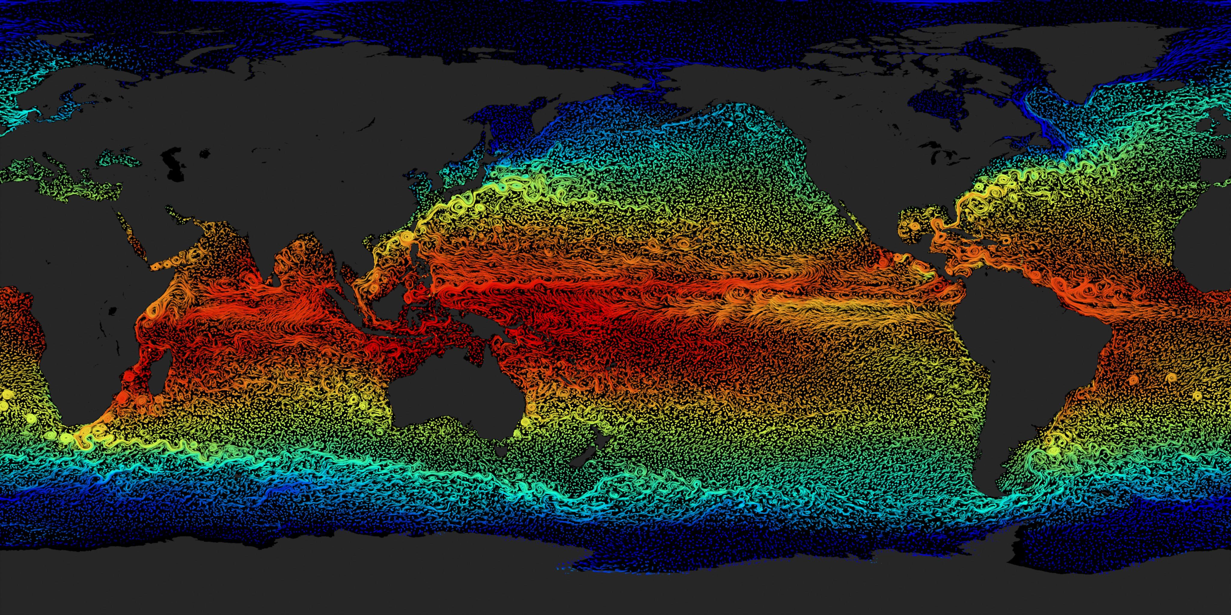 coas earths surface temperatures - HD4096×2048
