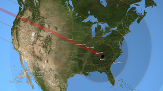Link to Related Story entitled: 2017 Total Solar Eclipse in the U.S.