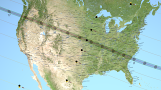 Link to Related Story entitled: 2017 Total Solar Eclipse Map and Shapefiles