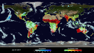Link to Related Story entitled: Global Fire WEather Database
