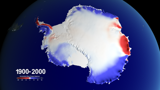 Link to Recent Story entitled: 100 Years of Accumulated Mass Change over Antarctica