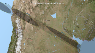 Link to Recent Story entitled: 2019 Total Solar Eclipse Maps and Shapefiles