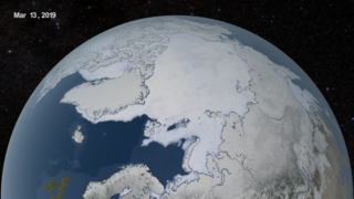 Link to Recent Story entitled: Arctic Sea Ice Extent: March-September 2019