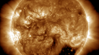 Link to Recent Story entitled: Coronal Holes at Solar Minumum and Solar Maximum