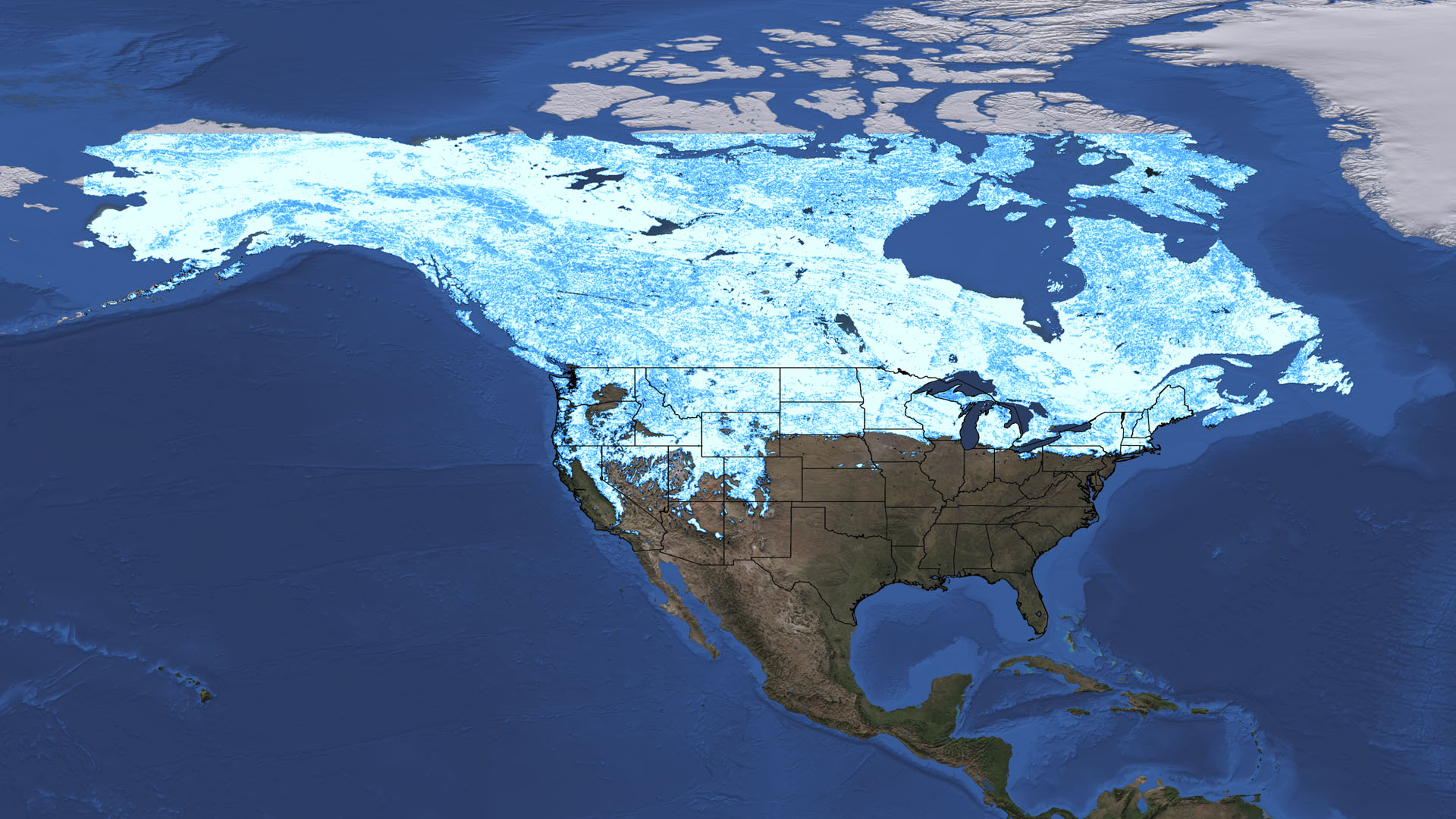 NASA Viz: Winter, Interrupted