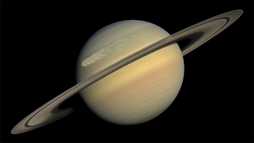 NASA Viz: Saturn's Superstorm
