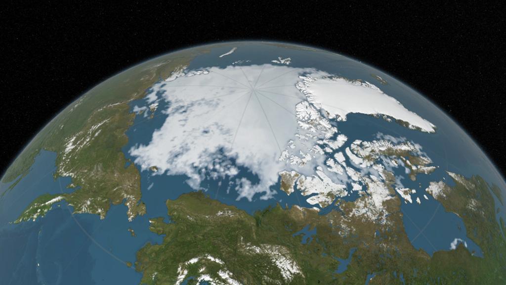 polar ice cap nasa - photo #31