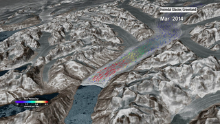 Link to Recent Story entitled: Landsat's Global View of Ice Velocity