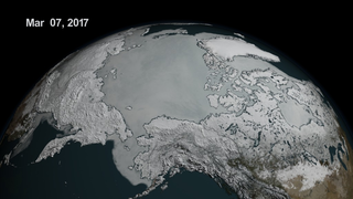 Link to Popular Story entitled: Shrinking Sea Ice