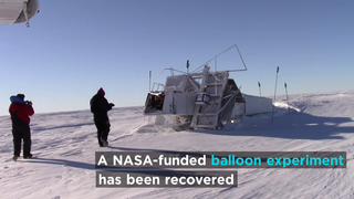 Link to Recent Story entitled: NASA-funded Balloon Recovered From Antarctica