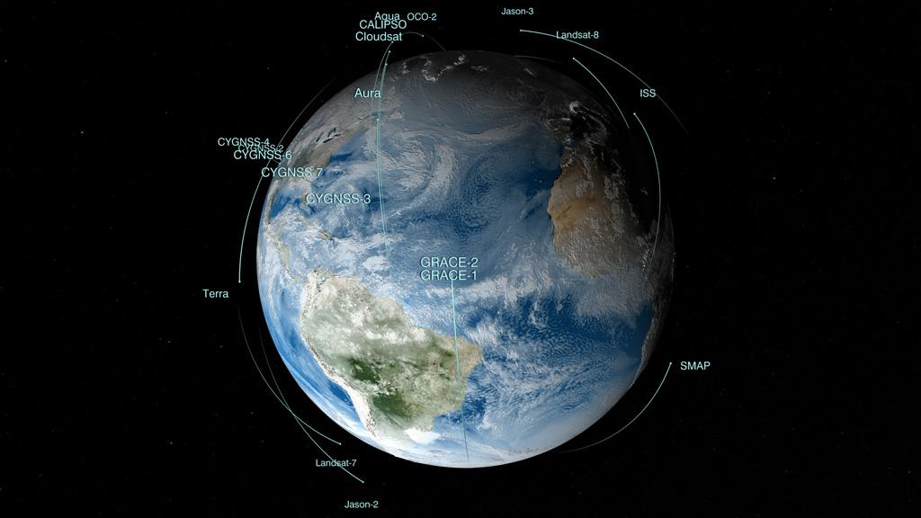 NASA Viz: Satellite Sentinels