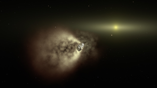Link to Recent Story entitled: Newly Renamed Swift Mission Catches a Comet Slowdown