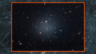 Link to Recent Story entitled: Hubble Views a Galaxy Lacking Dark Matter