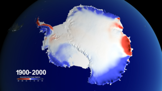 Link to Recent Story entitled: Snow over Antarctica Buffered Sea Level Rise during Last Century