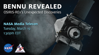 Link to Recent Story entitled: OSIRIS-REx LPSC Media Telecon
