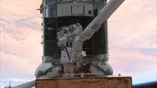 Link to Recent Story entitled: Hubble Archive - Servicing Mission 4, STS-125