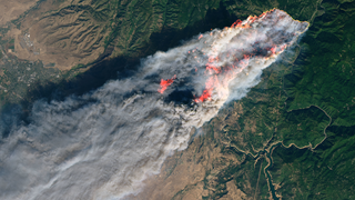 Link to Popular Story entitled: A Drier Future Sets the Stage for More Wildfires
