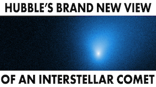 Link to Recent Story entitled: Hubble's New Image Of Interstellar Object