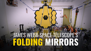 Link to Recent Story entitled: The James Webb Space Telescope's Folding Mirrors