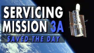 Link to Recent Story entitled: How Hubble's Servicing Mission 3A Saved the Day