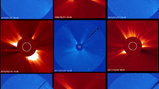 Link to Recent Story entitled: Four of Our Favorite SOHO-discovered Comets